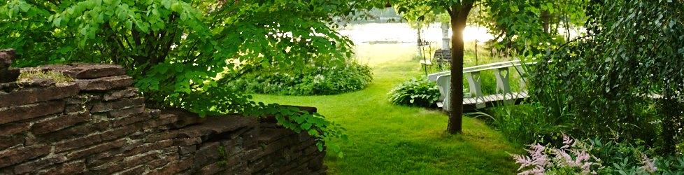 Trädgård à la Rosenholm