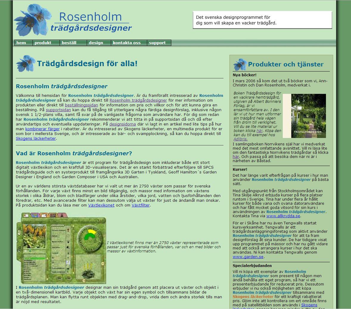 Rosenholm trädgårdsdesigner