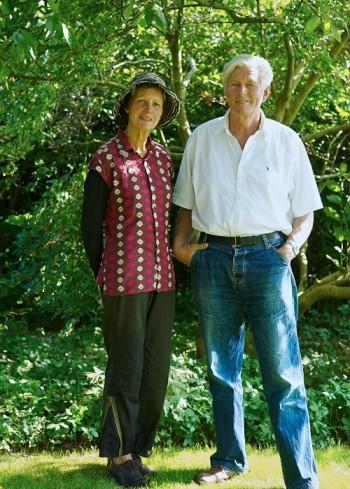 Piet och Anja Oudolf har tillsammans byggt upp den plantskola som varit basen för deras verksamhet