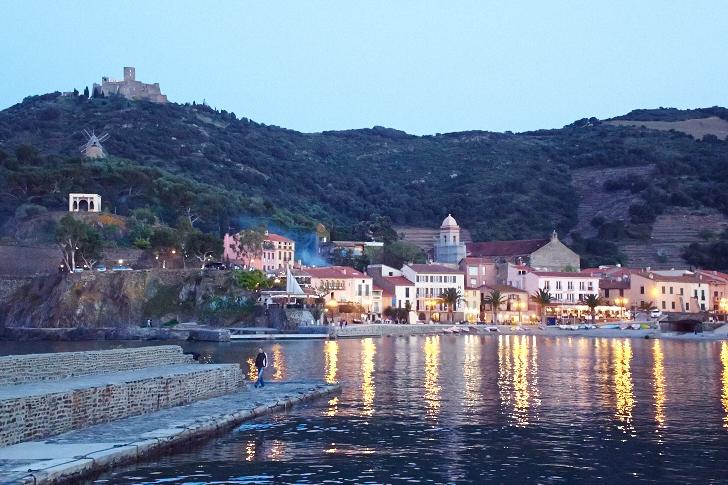 Kväll över hamnen, Collioure