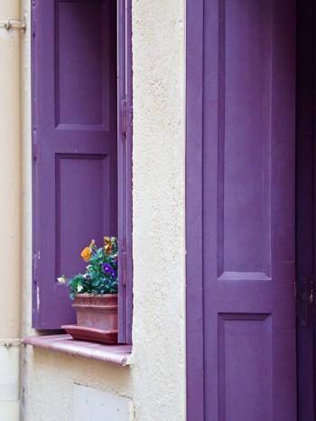 Kruka i fönster, Collioure