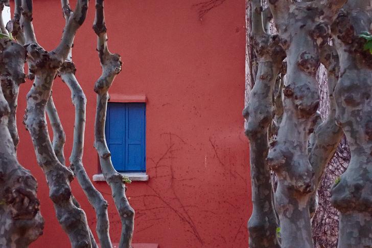 Utsikt från fönster, Collioure