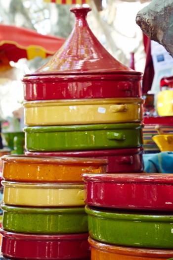 Keramik på marknad, Collioure