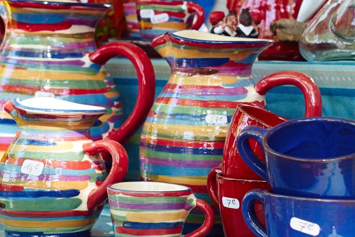 Keramik till salu, Collioure