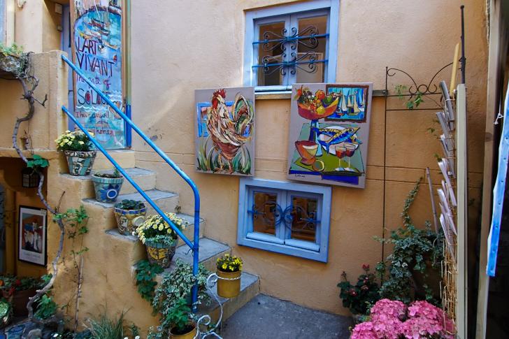 Konst och krukor, Collioure