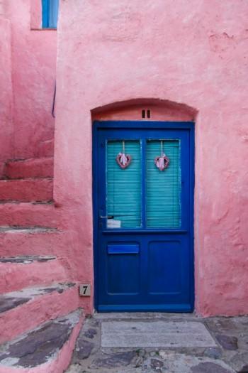Dörr och trappa, Collioure