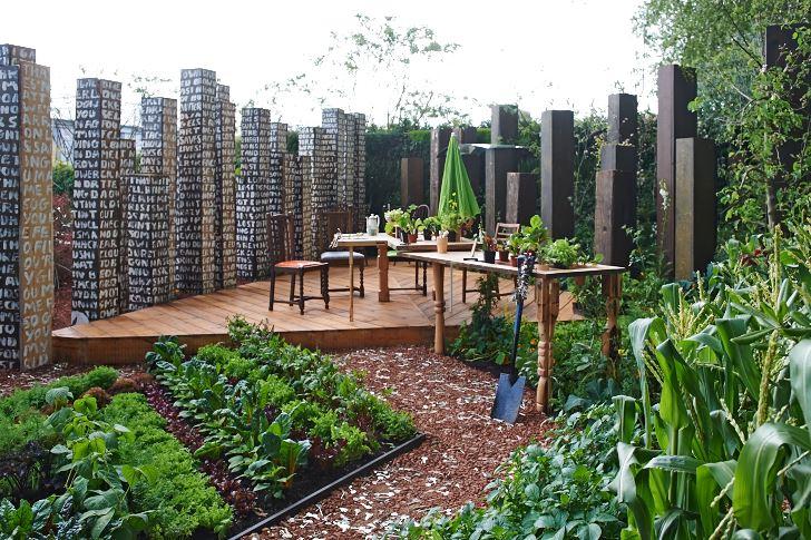 Chelsea Flower Show 2009. The Key Garden, Paul Stone.