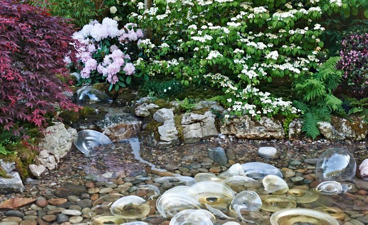 Chelsea Flower Show 2009. Echoes of Japan in an English Garden, Kay Yamada.