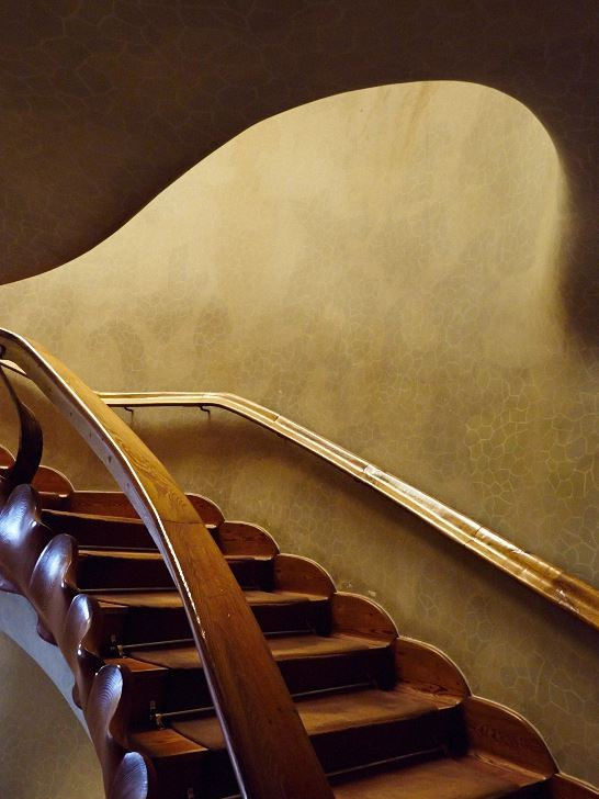 Trapphus nedre planen, Casa Batlló