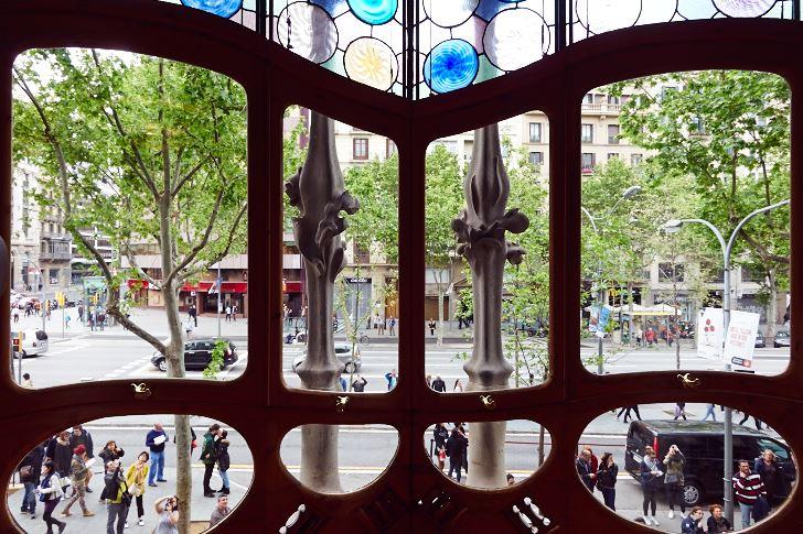 Vy mot gata, Casa Batlló