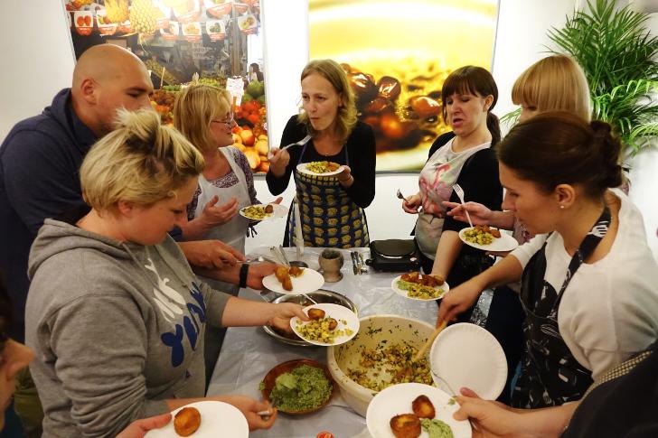 Äter det vi lagat, Judiska festivalen i Krakow
