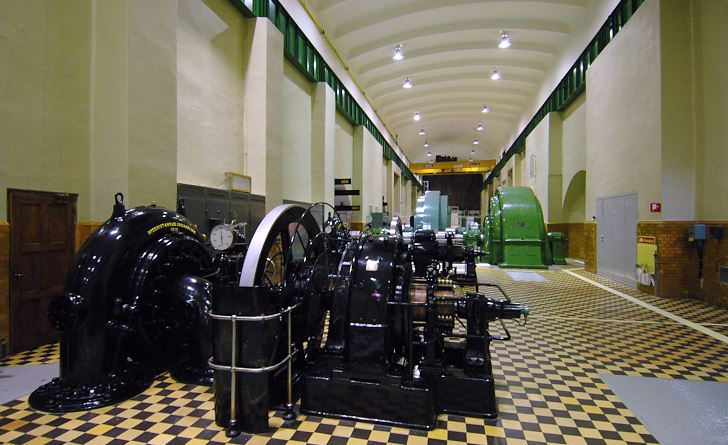 Porjus gamla kraftstation