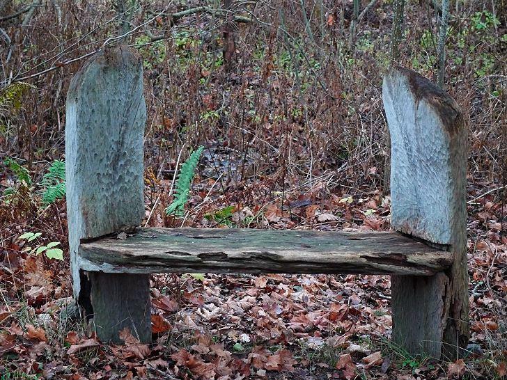 Annan enkel och skön sittplats att inspireras av