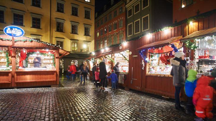 Julmarknad på Stortorget, Gamla Stan, Stockholm