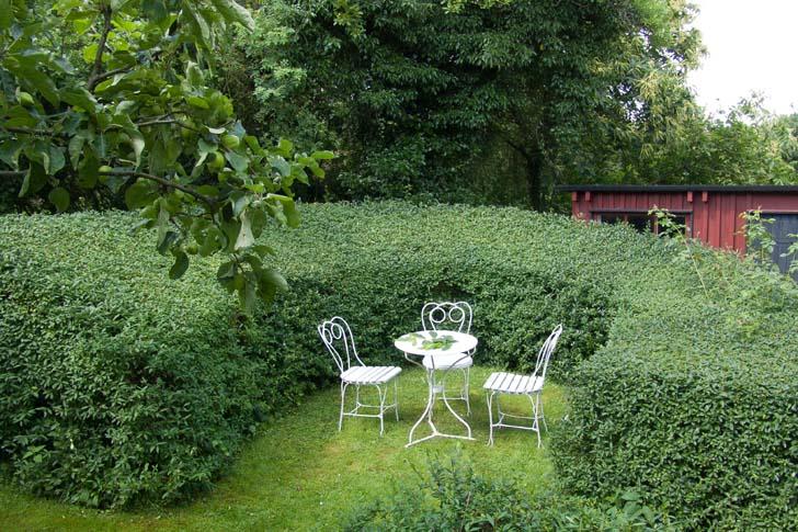 Sven-Ingvar Anderssons trädgård i Södra Sandby