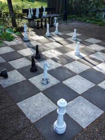 Schackspel för sommarkvällarna