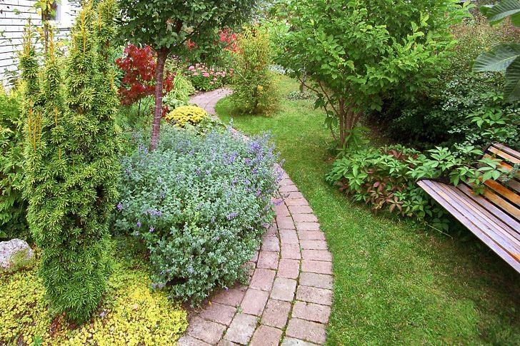 Från oanvändbar tomtbit mot gatan till attraktiv entréträdgård hemma hos oss.