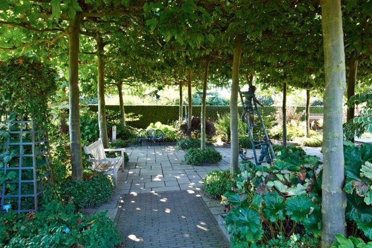Visningsträdgården Appeltern i Holland.