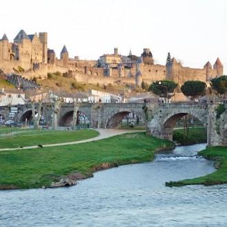 Tinnar, torn och tak − Carcassonne