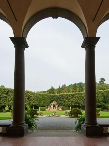 Il grottesco sedd från Villa Oliva