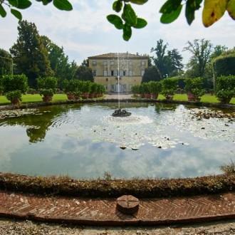 Lucca och tre toskanska villor