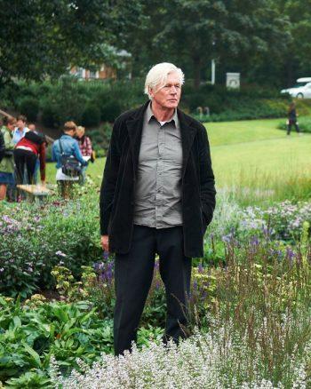 Piet Oudolfs senaste projekt i Sverige är Skärholmens perennpark, invigd hösten 2011.