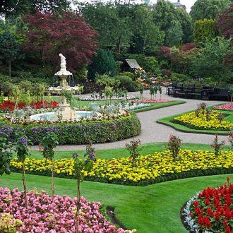 The Quarry− stenbrott med blomsterträdgård